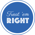 Treat 'em Right Retina Logo
